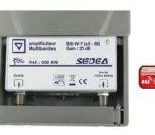Amplificateur 1 entrée Large Bande Sedea